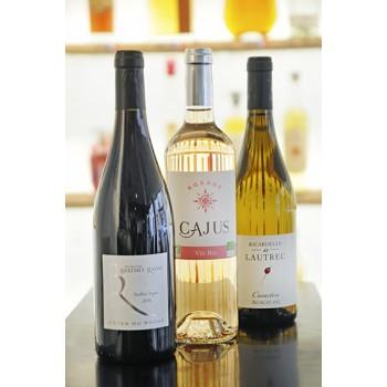 Set Découverte Vin Rouge, Rosé, Blanc - Bio